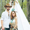 southwestern woodland romance wedding shoot