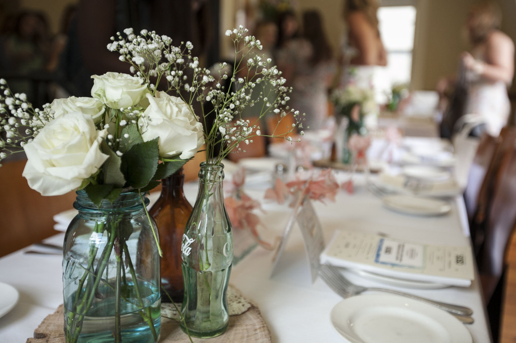 The perfect southern center piece for any event. Design by Flower Child Weddings.com