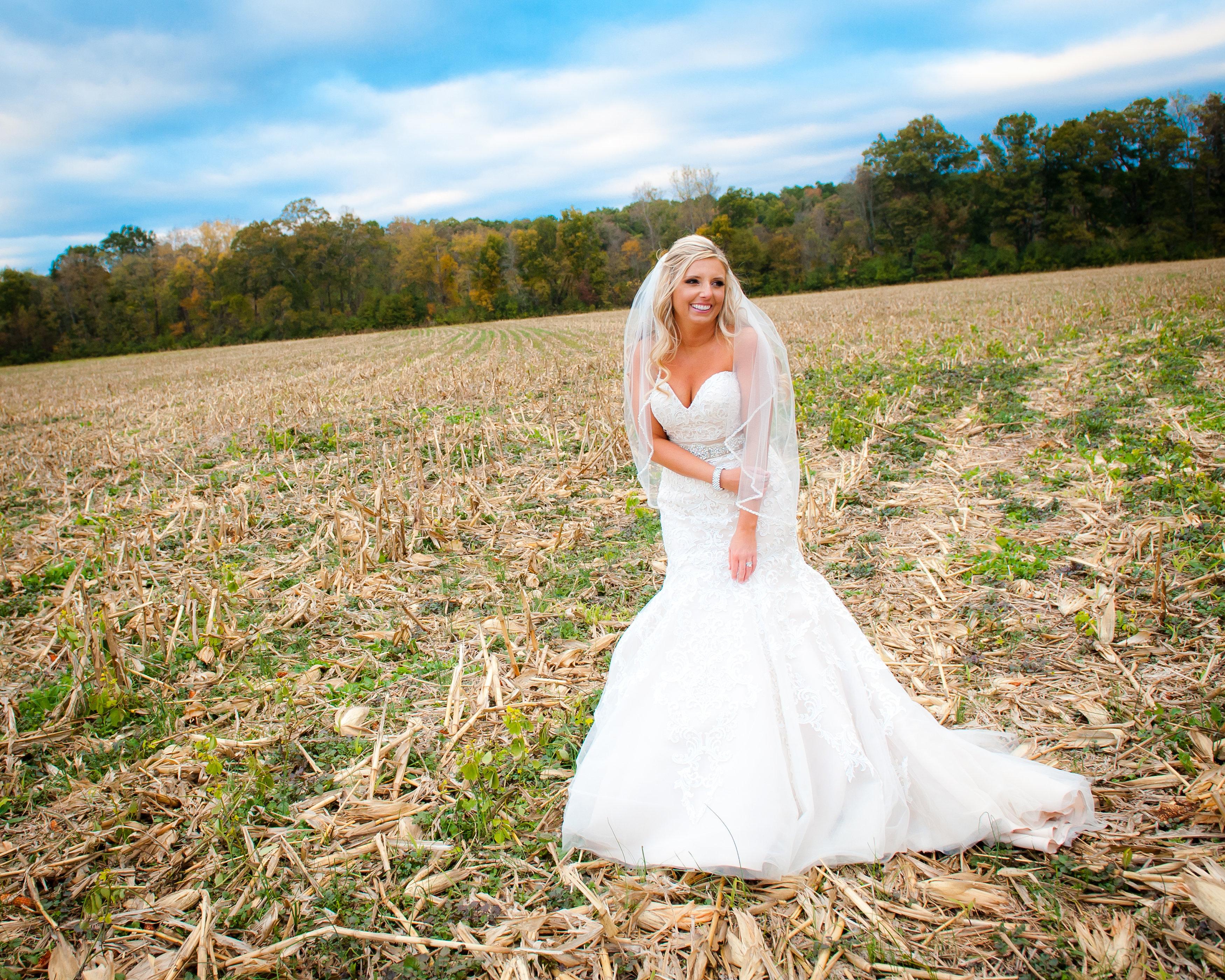 Angela + Marcus: A Fall Lakeside Rustic Wedding