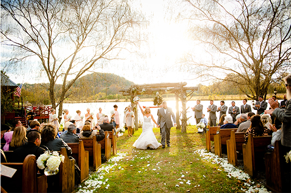 Angela + Marcus: A Fall Lakeside Rustic Wedding || Coordinator + Designer: Flower Child Weddings