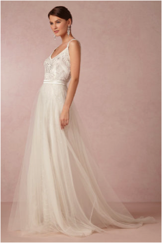 BHLDN: Elsa Tulle Skirt - $595