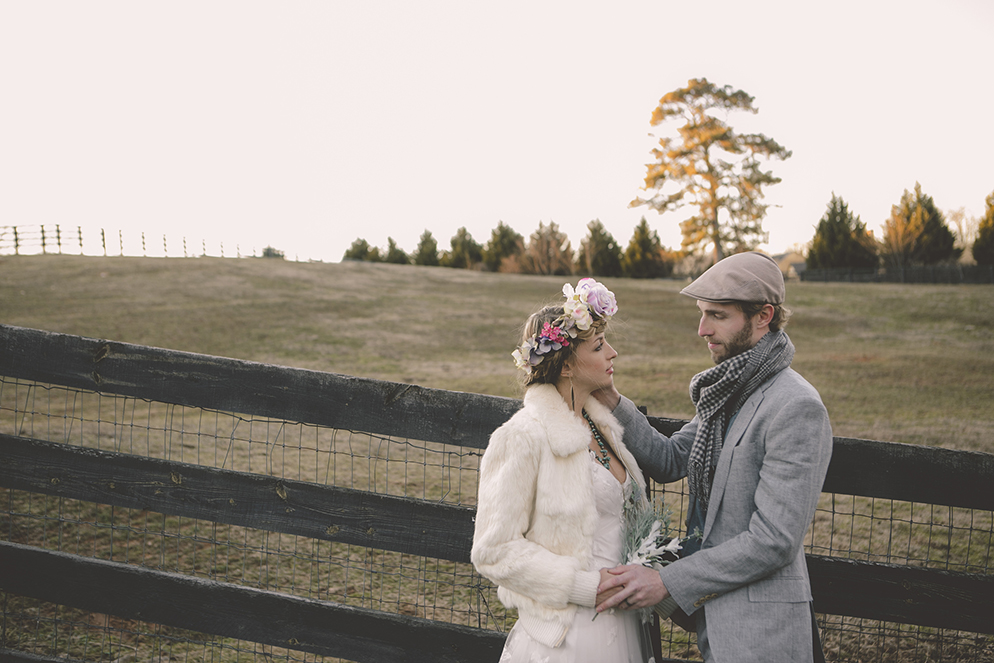 Flower Child Farm Wedding Boho Bohemian