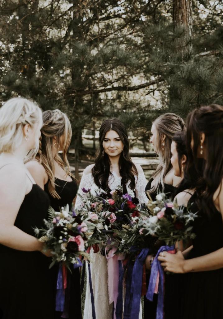 Flower Child Weddings Signa and Zach bridesmaids
