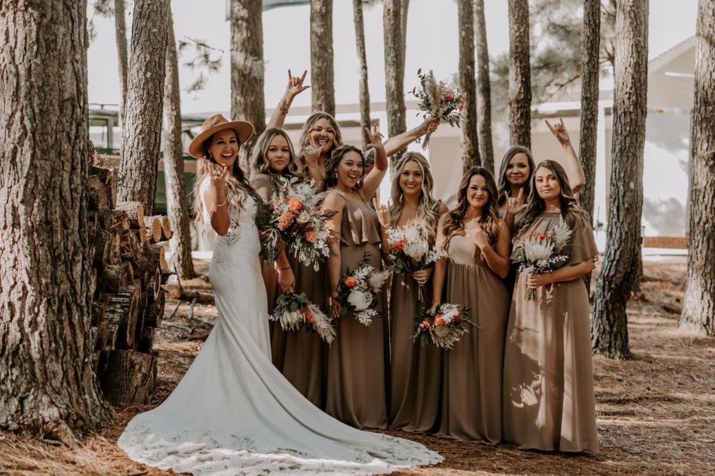 Flower Child Weddings - Becca Bridesmaids